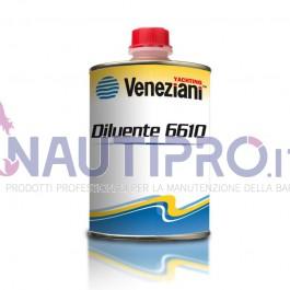 VENEZIANI DILUENTE 6610 - Solvente per prodotti a base epossidica Conf.0.5Lt