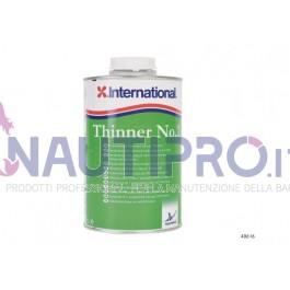INTERNATIONAL THINNER N° 9 - Diluente per applicazione di vernici poliuretaniche bicomponente Conf.Lt 1