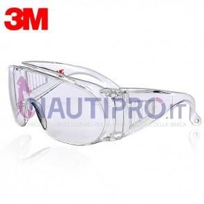 Occhiali protettivi 3M VISITOR PC CLEAR Conf.1pz
