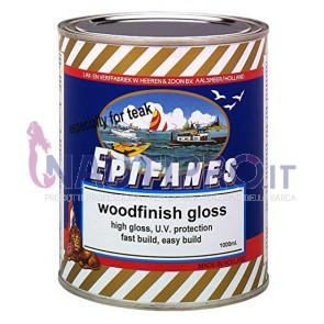 EPIFANES WOODFINISH GLOSS Trasparente monocomponente resistente UV per legni tropicali Conf.Lt1