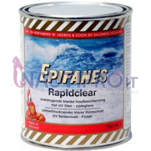 EPIFANES RAPID CLEAR Vernice semilucida resistente UV rapida essicazione. Conf.1Lt